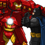 Batman and Ironman by RickMarin