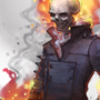 Ghost Rider by IrinaEihwaz