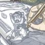 Hen's Sketchbook - Banner
