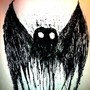 Mothman Inkblot by SpencerXavier