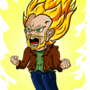 Super Saiyan ME!! with Energy by Niskratus