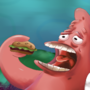 Patrick and the Krabby Patty by Ikaros223