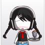 Slender Waitress by wolfyq123