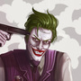 the Joker Suicide Squad by Dahlia-K
