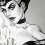 The sorceress by LeylaArirama