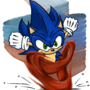 Sonic the Hedgehog by Niskratus