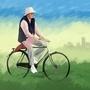 Amitabh Bachchan/PIKU FAN ART by KingSid1412
