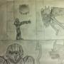 Samus VS Jack Noir by LullabyFaust