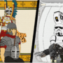 - Astounding Ancient VS Fantastic Futuristic- (OLDVNEW) by Drawnimations
