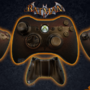 Gotham is on Fire - Custom Xbox 360 Joystick SALE by Ricepuppet