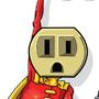 Socket Man by MPoulter