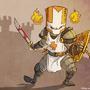 the orange knight! by jouste