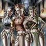 The Gorgon Sisters by ItoSaithWebb