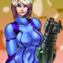 Samus hips by Cartridgeboy