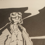 Hellboy - Ink by EmuToons