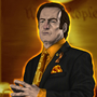 Saul Goodman - Orange Lantern by HalWilliams