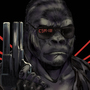 Terminator Gorilla by Knafomania