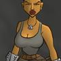 Mortal Kombat X: Jacqui Briggs by DeepFriedNeil