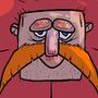 Mustache beef by Marklikeart