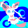 Ribbonsilk the Sylveon by bubthevapor