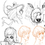 Sketches 1 by Zigan