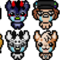 Binding of Isaac Icons