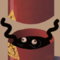 Creature in barrel