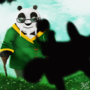 Master Po with Shifu's Son by KingSid1412