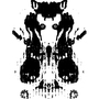 Staring monotype (Rorschach edition) by AndreuMB