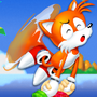 Power Plaid: Tails Skypatrol/ Adventures Title Card by Motament