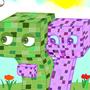 Creeper Crush by doodlebotART