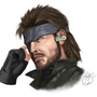 Big Boss fan art by Randombarimen