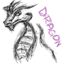 Dragon Sketch by ZzCookieMonsterzZ