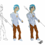 Spear-Boy by Paskel