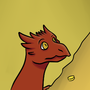 Baby Smaug by PsychoticRat