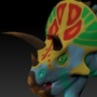 ZBrush Triceratops by BrandonP