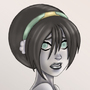 Busty Chief Toph Beifong by SpacePirateLord