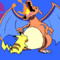 Smash Gif 7- Charizard vs. Pikachu