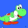 Super Smash Gif 6 - Yoshi by redcapkid16