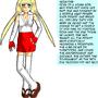 Sima Character Bio Sheet by Hurumi