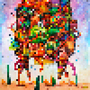 Desert pixel crazy. by PaPaNic