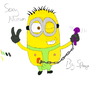 Dispicable Me: Horny Minion by SpoogeMcGroove