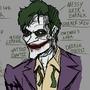 The Final Gag & Playtime's Over comparison: Joker by Glenorsven