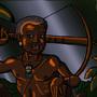 Ankhe the Batwa Elder by BrandonP