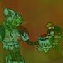 Robot Attack by rilyrobo