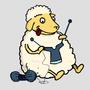 Dessines moi un mouton by Libraxis
