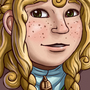 Nordic Girl Bust by Rocktopus64