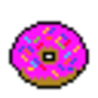 Pixel Donut by GamingGalaxy
