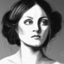 Portrait Study [Greyscale] by Kalloway