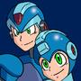 Megaman & X by Plazmix